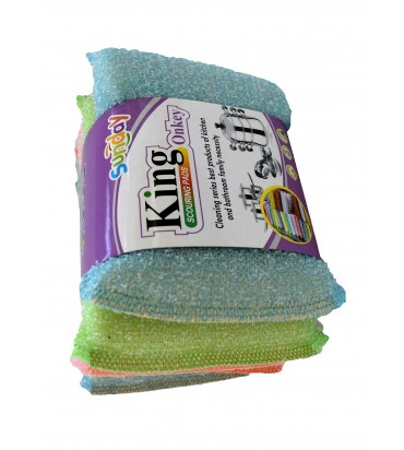 """""""Sunday, king scouring pads..."""
