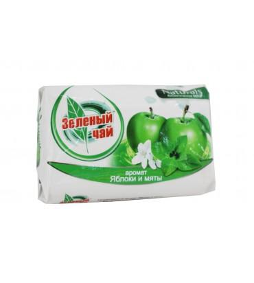 """Мыло """"Зелёный чай"""" яблоко и..."""