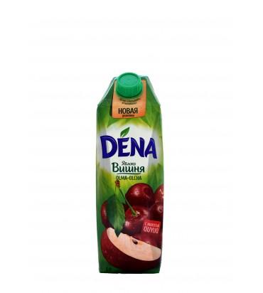 """Сок """"Dena"""" яблоко-вишня 1л"""