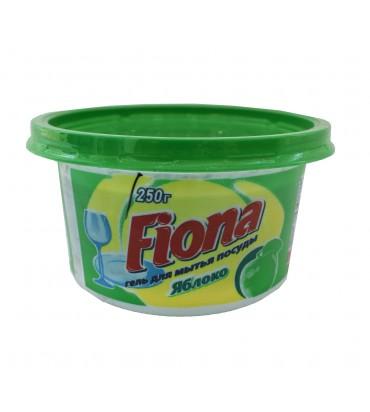 """Гель для посуды """"Fiona"""" яблоко 250гр"""
