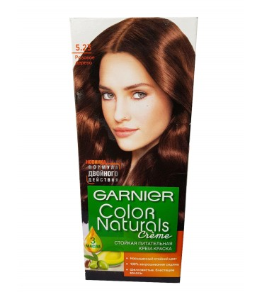 """Крем-краска для волос """"Garnier Color Naturals creme"""" 5.23 розовое дерево 110мл"""