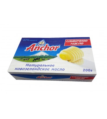 "Сливочное масло ""Anchor"" 200гр"