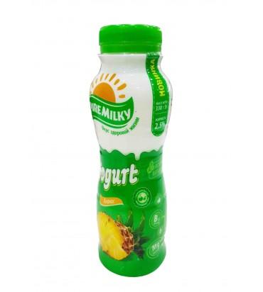 """Йогурт """"Pure Milky"""" ананас..."""
