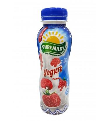 """Йогурт """"Pure Milky"""" малина..."""