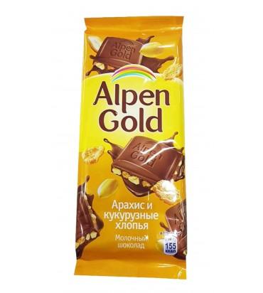 "Шоколад ""Alpen Gold"" арахис..."
