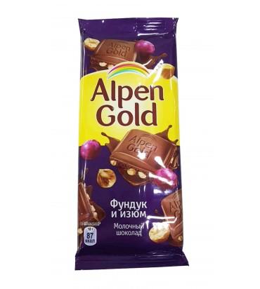 "Шоколад ""Alpen Gold"" фундук..."