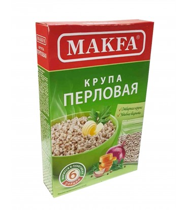 "Крупа ""Makfa"" перловая 400гр"
