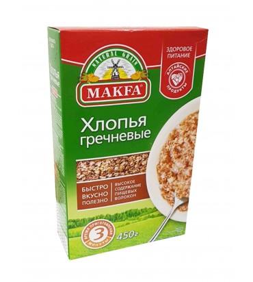"""Хлопья """"Makfa"""" гречневые 400гр"""