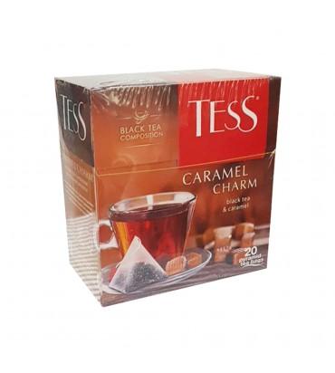 """Чай черный """"TESS"""" с карамелью 36гр"""