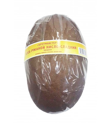 Хлеб ржаной кисло-сладкий...