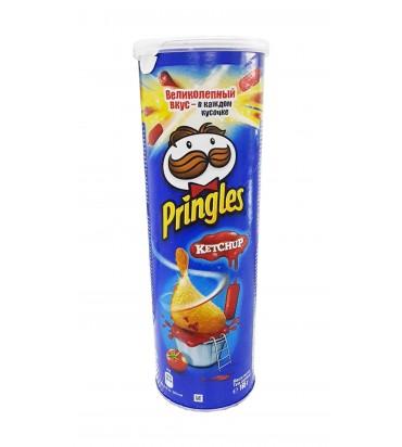 "Чипсы ""Pringles"" кетчуп 165гр"