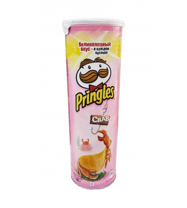 """Чипсы """"Pringles"""" краб 165гр"""