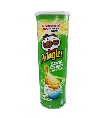 """Чипсы """"Pringles"""" крем-суп и..."""
