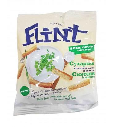 """Сухарики """"Flint"""" крем-суп 70гр"""