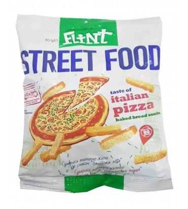"""Сухарики """"Flint"""" пицца 80гр"""