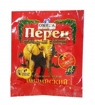 "Перец ""Омега специи"" красный молотый 15гр"