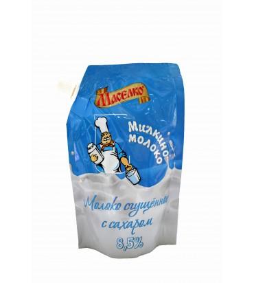 Сгущенное молоко с сахаром...