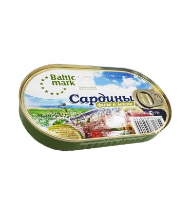 "Сардины ""Baltic mark"" филе..."