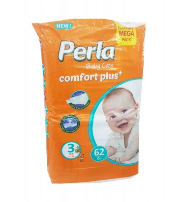 Perla 3 подгузники 62шт...