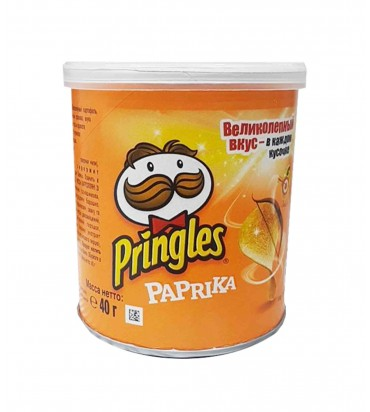 "Чипсы ""Pringles"" паприка 40гр"