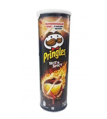 "Чипсы ""Pringles"" hot&spicy..."