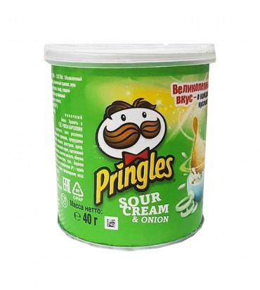 "Чипсы ""Pringles"" sour cream..."