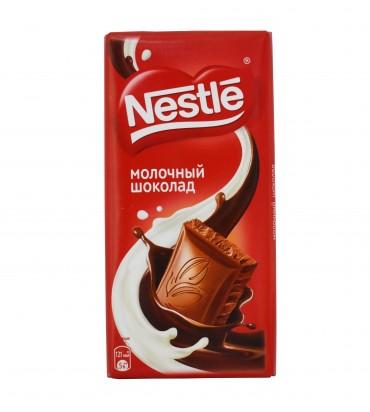 """Молочный шоколад """"Nestle"""" 90гр"""
