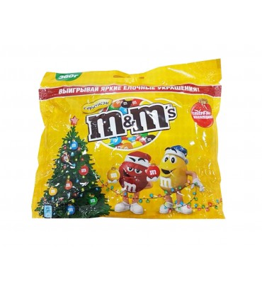 """Шоколадные драже """"M&M's"""" с арахисом 360гр"""