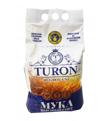 "Мука пшеничная ""Turon"" 3кг"