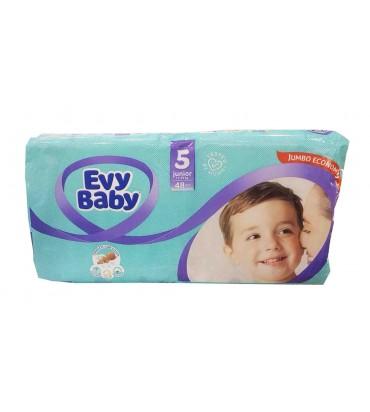 Evy Baby 5 подгузники 48шт...