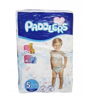 Paddlers 5 подгузники 52шт