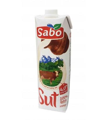 """Молоко """"Sabo"""" 4,0% 1000гр"""