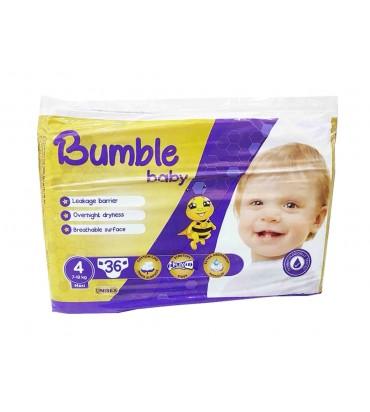 Bumble baby 4 подгузники...