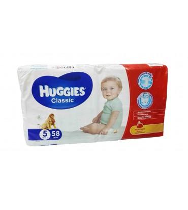 Huggies 5 подгузники 58 шт