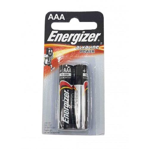 Energizer батарейки 1.5v-1.5b AAALR03 2шт