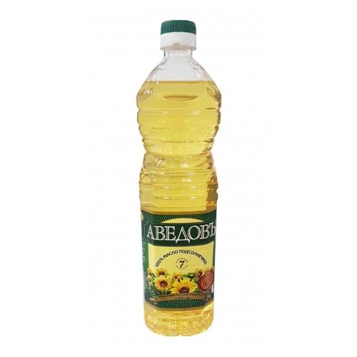 Подсолнечное масло Аведовъ 1л