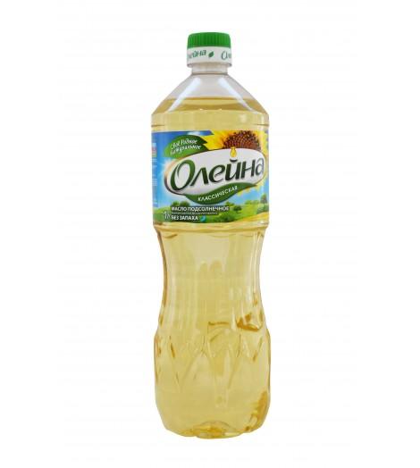 """Подсолнечное масло """"Oлейна"""" 1л"""