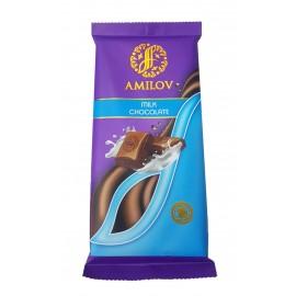 Молочный шоколад Amilov 90гр