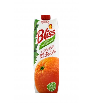 """Сок """"Bliss"""" с апельсиновым вкусом 1л"""