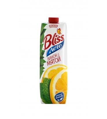 "Сок ""Bliss"" лимон с мятой 1л"