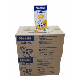 Молоко Nestle 6%  1 блок(12шт)