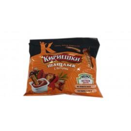 «Кириешки», сухарики со вкусом шашлыка и кетчупом «Heinz», 60 г