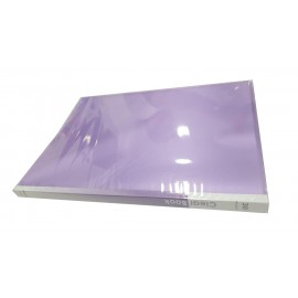 Фиолетовая файловая папка...
