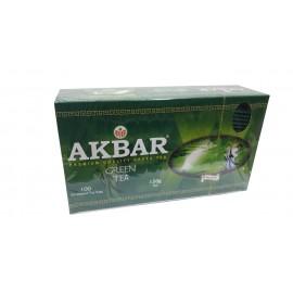 Чай зеленый AKBAR green tea...