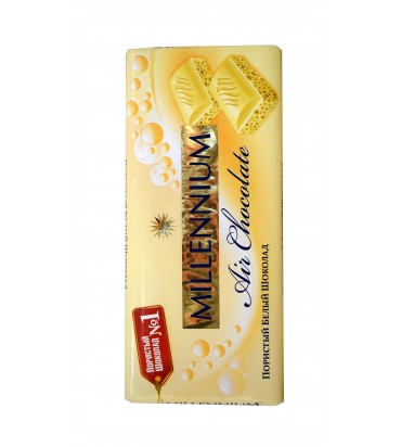 Пористый белый шоколад...