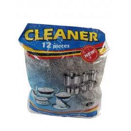 CLEANER 12 шт, металлическая для посуды