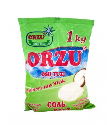 """Соль первого сорта """"Orzu"""",..."""