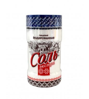 Соль экстра йодированная 400гр