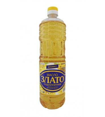 """Подсолнечное масло """"Злато"""" 1л"""